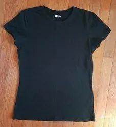 Ladies half sleeves T shirts