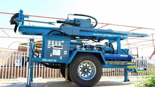 Drilling Rig Mounted On Trailer
