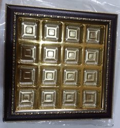 16 Pc Cavity Chocolate Tray