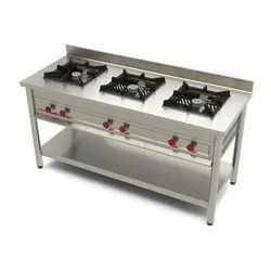 Stainless Steel Commercial Gas Ranges