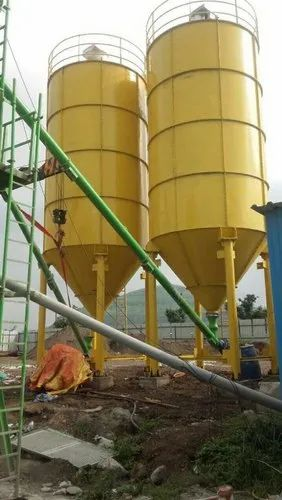 Cement And Fly Ash Storage Silo