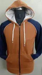 Men pc cotton flecc Hooded Sweatshirt, Size: m to xxl