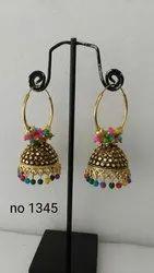 Oxodise goldan earring