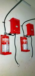 Electrical Panel Fire Fighting System, For Industrial, Capacity: 5 Kg