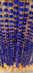 Multicolour Pompom String Hanging