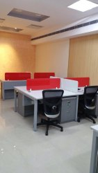 Wood Desking Workstation, Size: 1200mm L X 600 Mm D X750mm Ht