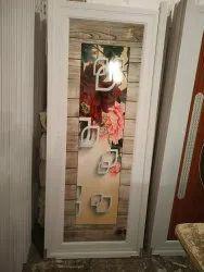 Casement Polished Pvc Door, For Bathroom, Interior