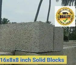 8 Inch Concrete Solid Block