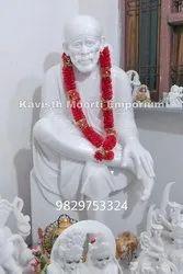 Sai Baba Marble Statue