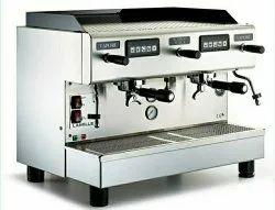 3300 W Stainless Steel Lamille 2 Gr L1100 With Joystick Espresso Coffee Machine, White