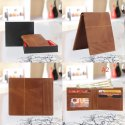 Crunch leather Rfid wallet