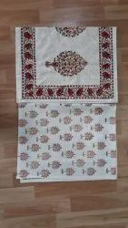 Block Printed Double Bed Sheet