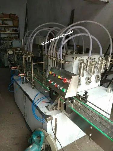 Automatic Multi Head Liquid Filling Machine