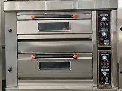 DHANI MACHINES Silver 2D 4T OVEN ELECTRIC, Size/Dimension: Large, Capacity: 4 Tray