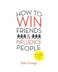 White Self Help How To Win Friends And Influence People