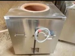 Stainless Steel Square Gas Tandoor, For Commercial, Capacity: 110 Per Litre
