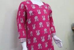 Cotton Printed Kids Long - shirt shalwar size 22 to 38