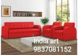 Wooden Modern Designer Sofa Set, For Home, Living Room