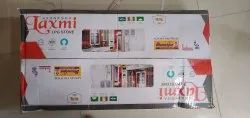 2 Stainless Steel Laxmi Lpg Gas Stove, For Kitchen, Model Name/Number: Bf 1.500