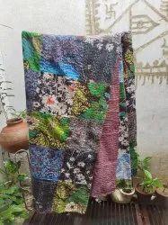Patchwork Kantha Quilts