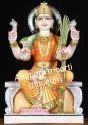 Tripur Sundari Marble Statue