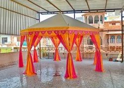 Colourful Pavilion Canvas Tent