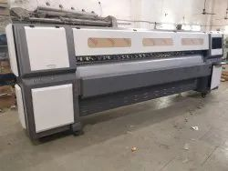 Skyjet series Cmyk Konica 512i Flex Printing Machine, Max. Print Width: 3200mm, Number Of Colors: 4