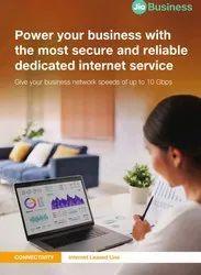 Internet Leased Line, SIP TRunk, MPLS, Jio Gigafiber