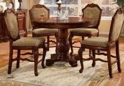 Heritage Six Seater Wooden Carving Dining Table, For Home