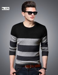 Stylish Casual Wear Full Sleeve T Shirt