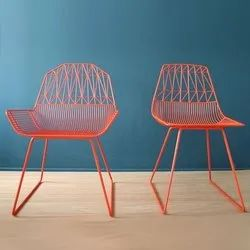 The Brownscape Modern Designer Chair, For Cafe, Back Style: Tight Back
