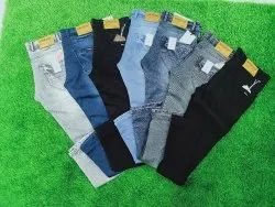Mens Trendy Regular Narrow Fit Skiny Fit Strecheble Denim Jeans, Waist Size: 28 To 36 Or 38 To 42