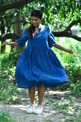 Handloom Dress, 100-110
