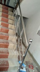 Steps Basic Steel Railing, For Construction, 5