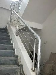 Stainless Steel Railing, For Home, Mounting Type: Wall