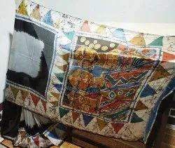 Swastim Handpaint Handbatik Batik Silk Saree, With blouse piece, 6.5meter
