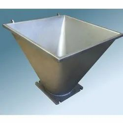 Mild Steel Industrial Hoppers For Machinery