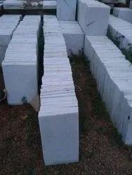 Vitrified White Marble Tiles, For Flooring, Size: Medium