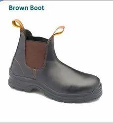 Black & Brown Standard Mens Boots