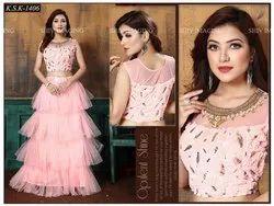 Net Party Wear Designer Bridal Lehenga 1406
