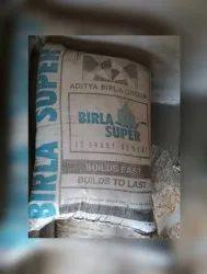 Grey Birla Super Opc 53 Grade Cement, Packaging Size: 50 Kg