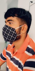 Cottan mask printed