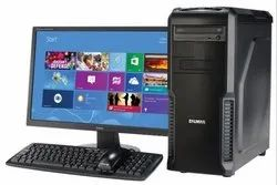 ASSEMBELD DUAL CORE New Assembled Desktop, Screen Size: 15, Windows 7
