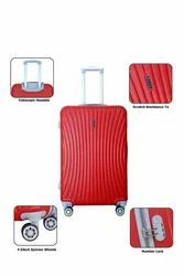 Multicolor 3 Pc Set Trolley Bag, For Travelling, Size: 20+24+28