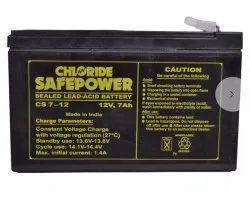 12V 7Ah Battery, 2.5 Kg