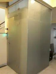Designer Glass lift, Without Machine Room, Maximum Speed: 0.5