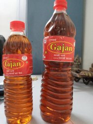 Kachchi Ghani Gajan Mustard Oil, Packaging Type: Plastic Bottle, Packaging Size: 1 litre