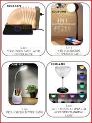Led And Digital Modern/Contemporary Decorative Table Lamp, For Decoration