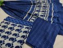 Fancy Printed Cotton Suit Fabric