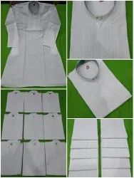 Casual Embroidered Mens Cotton Kurta, Chinese, Size/Dimension: 36 to 50
